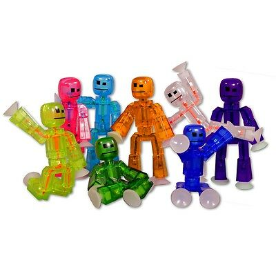Stickbot Figure select your colour - Purple Blue Yellow Green Pink STIKBOT