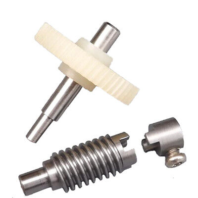 New Plastic Metal Worm Wheel Gear Reducer Gear Reduction set for DIY Accessories