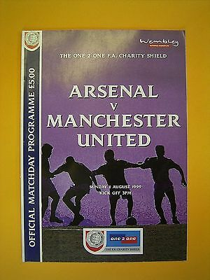 FA Charity Shield - Arsenal v Manchester United - 1st August 1999