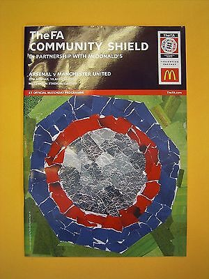 The FA Community Shield - Arsenal v Manchester United - 10th August 2003