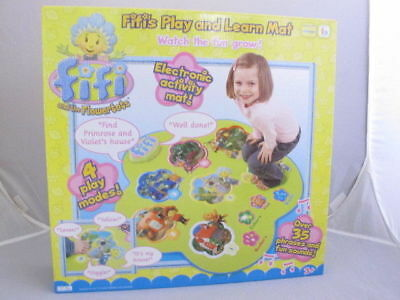 FIFI and The Flowertots Play and Learn Electronic Learning Activity Mat