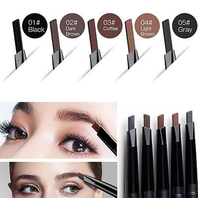 Waterproof Eye Brow Eyeliner Eyebrow Pen Pencil With Brush Makeup Cosmetic Tool