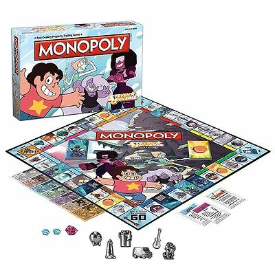 Monopoly: Steven Universe - Classic Board Game TV Series Property Trading NEW
