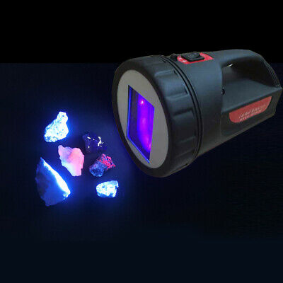 Geologists 2 in 1 White Light 254nM SW UV Shortwave Minerals Ultraviolet Lamps