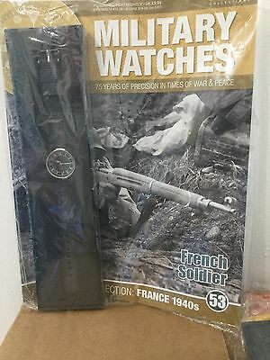 Eaglemoss Military Watches  Issue 53 - French Soldier's Watch 1940s