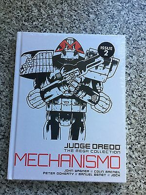 Judge dredd the mega collection issue 2 mechanismo