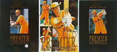 1996 World Cup Cricket Mark Waugh Signature Redemption Card