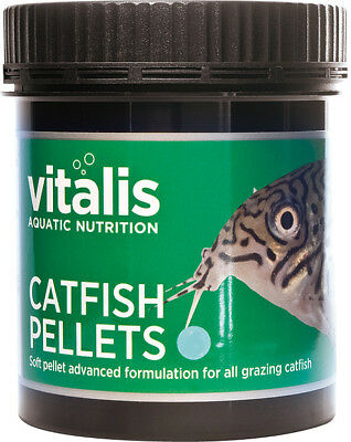 New Era Vitalis Catfish Pellets S 120g Tropical Aquarium Fish Food 1.5mm Pellets