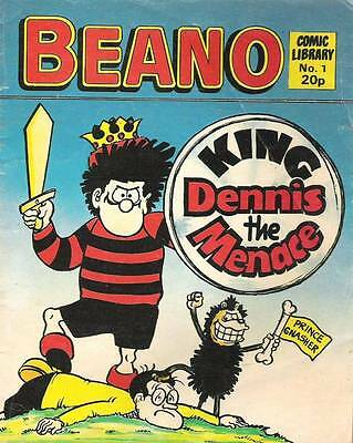 Beano Comic Library Number 1 King Dennis The Menace