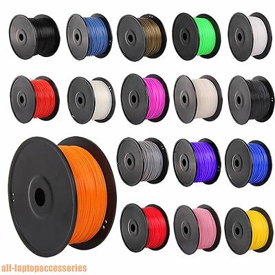 3D Printer Filament PLA ABS 1.75mm, 3mm 10m - 1kg for RepRap, Makerbot more DE