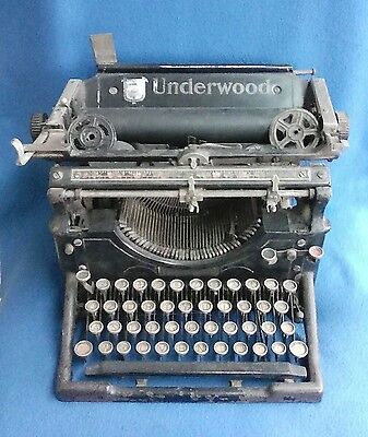 Macchina Da Scrivere Typewriter Underwood Vintage Made In Usa