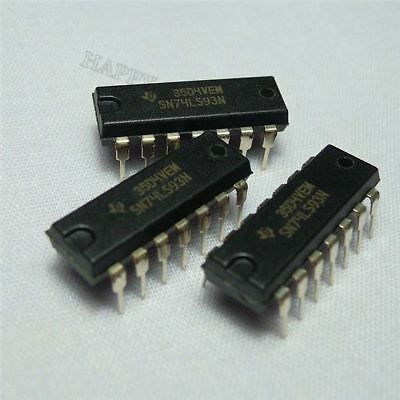 10PCS CD4520BE DIP-16 CD4520 DIP16 Ti Dual Binary Up compteur