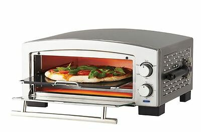 New Russell Hobbs 5 Minute Pizza and Snack Oven Stainless Steel