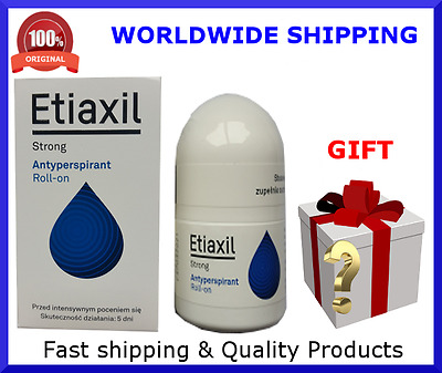 Etiaxil Roll-on Strong Anti-Perspirant 15ml against intensive sweating