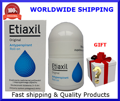 Etiaxil Roll-on Original anti-perspirant 15ml against excessive sweating/odours