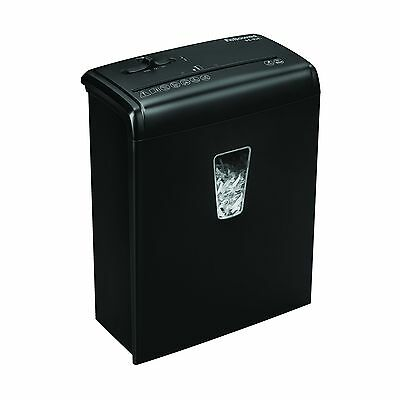 Fellowes Powershred H-6C 6-Sheet Cross-Cut Paper and Credit Card Shredder wit...