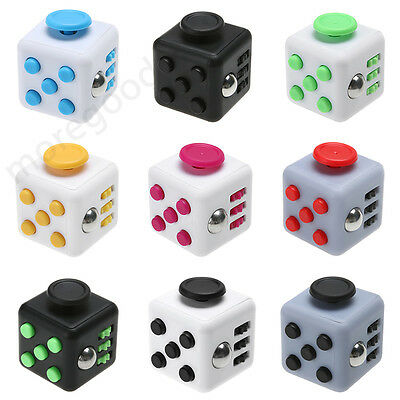 Hot Magic Fidget Cube Anti-anxiety Adults Stress Relief Focus Kids Fun Toy Gift