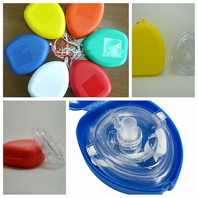 Adult&Child Size CPR Pocket Resuscitator Rescue Mask,CPR Face-Mask for Fist Aids
