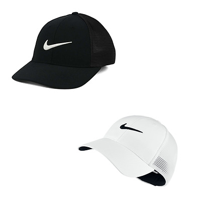 NIKE LEGACY 91 Tour Mesh Fitted Cap Hat 727031 010 100 -  24.99 ... a2396d68198