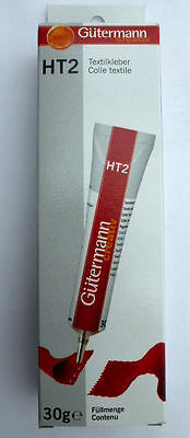 5 Tubes Gütermann HT2 Textile adhesive 30g,All purpose glue for Household and