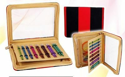 KnitPro ZING Deluxe Set, coloured + interchangeable needlepoints Art. 47404