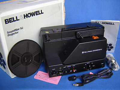 Bell & Howell Soundstar Xj Dual 8Mm Sound Movie Projector-Slight/no Use In Box