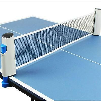 Portable Retractable Telescopic Table Tennis Net Rack Easy To Install Indoor N7