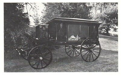 Vintage Funeral/Hearse Wagon, Reed Funeral Home, Canton, OH