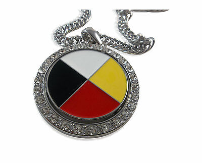 Medicine Wheel Spinner Link Chain