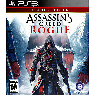 Assassin's Creed: Rogue - Limited Edition PS3 [Brand New]