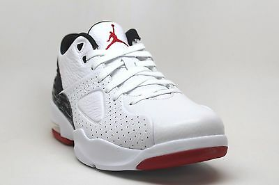 d55c2915598  881472-101  Men s Air Jordan Franchise Basketball White Black Gym Red Nib 8