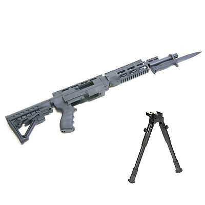 ProMag Archangel Tactical Stock Picatinny Rail w/Bipod for Ruger 10/22 - Black