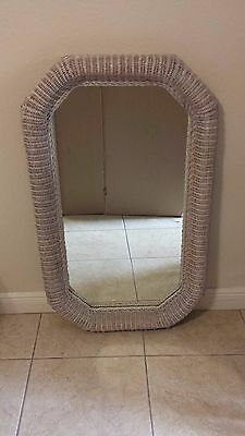 Robb & Stucky Wicker Mirror