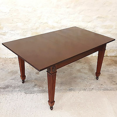Edwardian Extending Mahogany Dining Table C1910 (Antique)