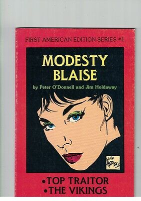 Modesty Blaise by Peter O'Donnell & Jim Foldaway 1st American Edition Series #1