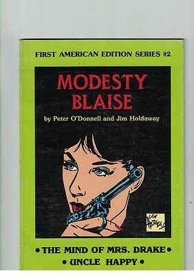 Modesty Blaise by Peter O'Donnell & Jim Foldaway 1st American Edition Series #2