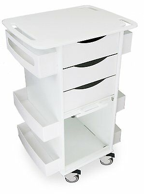 """TrippNT 51029 Polyethylene Core DX with 5"""" Casters and Clear PETG Door, 23"""" x x"""