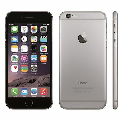 APPLE IPHONE 6 16 GB GREY+ accessories12 months warranty Grade A RECONDITIONED