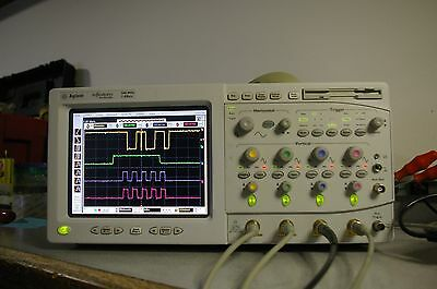54825A 2 GSa/s 500 MHz 4 channel Color Digital Oscilloscope Calibrated FFT DSO