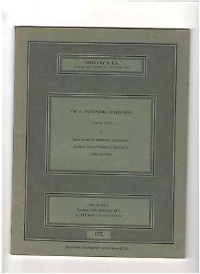 Sotheby's  Catalog, Chinese Ceramics, David Weill Collection, London, Feb. 1972