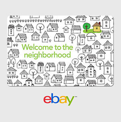 eBay Digital Gift Card - House Warming - Welcome - Email Delivery