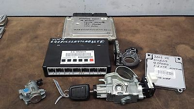 Holden Ve V6 Commodore Sedan 2006 Lock Set  Ecu Bcm Ignition & Key  Leo 10Hbe