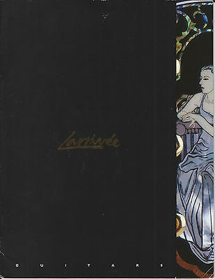 Larrivee Guitar Catalog & Features and Specifications Booklet CA2005