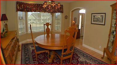 Dining Room Set - 16-pieces - Antique Hand-carved Oak