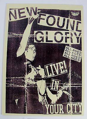 New Found Glory Album Cover Retro Vintage Art Print Music Rock Band Postcard