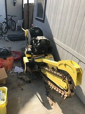 2011 Or 12 VERMEER RTX150WALK BEHIND TRENCHER