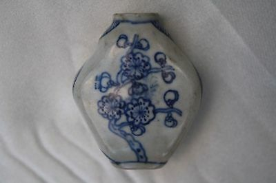 1900's Chinese Porcelain Snuff Bottle