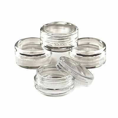 3ml empty craft jars/ pots VARIOUS QUANTITIES / lip balm /cosmetic /glitter jgc