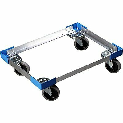 Dollies Carlisle Cateraide PC300N End-Loading Food Pan Carrier Dolly, Aluminum