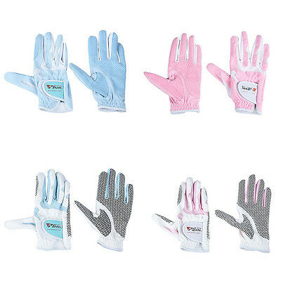 Fashion WOMENS All Weather Soft Microfiber Padded Golf Glove Non-slip Breathable